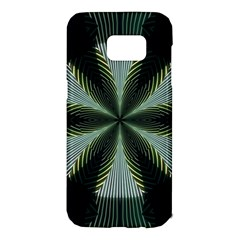 Lines Abstract Background Samsung Galaxy S7 Edge Hardshell Case by BangZart