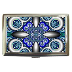 Fractal Cathedral Pattern Mosaic Cigarette Money Cases by BangZart