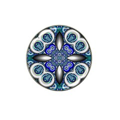 Fractal Cathedral Pattern Mosaic Hat Clip Ball Marker (10 Pack) by BangZart