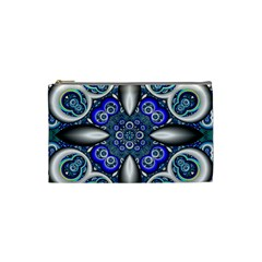 Fractal Cathedral Pattern Mosaic Cosmetic Bag (small)  by BangZart