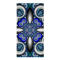 Fractal Cathedral Pattern Mosaic Shower Curtain 36  X 72  (stall)  by BangZart