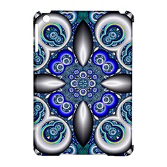 Fractal Cathedral Pattern Mosaic Apple Ipad Mini Hardshell Case (compatible With Smart Cover) by BangZart