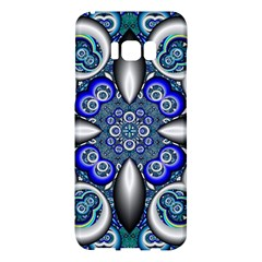 Fractal Cathedral Pattern Mosaic Samsung Galaxy S8 Plus Hardshell Case