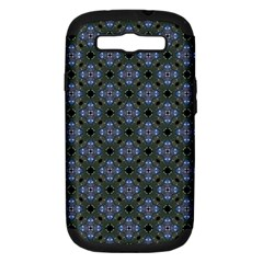 Space Wallpaper Pattern Spaceship Samsung Galaxy S Iii Hardshell Case (pc+silicone) by BangZart