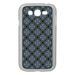 Space Wallpaper Pattern Spaceship Samsung Galaxy Grand Duos I9082 Case (white)