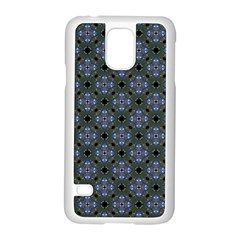 Space Wallpaper Pattern Spaceship Samsung Galaxy S5 Case (white) by BangZart