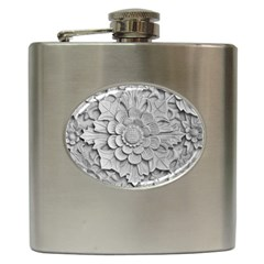 Pattern Motif Decor Hip Flask (6 Oz) by BangZart