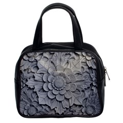 Pattern Motif Decor Classic Handbags (2 Sides) by BangZart