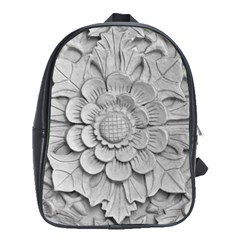 Pattern Motif Decor School Bags(large)  by BangZart