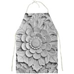 Pattern Motif Decor Full Print Aprons Front
