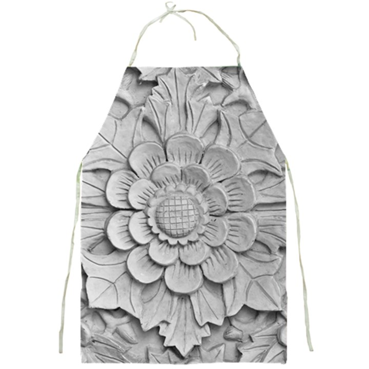 Pattern Motif Decor Full Print Aprons