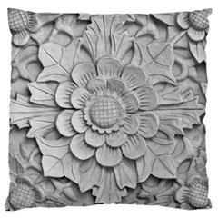 Pattern Motif Decor Standard Flano Cushion Case (one Side) by BangZart