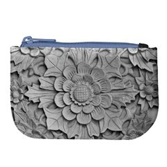 Pattern Motif Decor Large Coin Purse