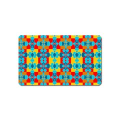 Pop Art Abstract Design Pattern Magnet (name Card) by BangZart