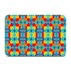 Pop Art Abstract Design Pattern Plate Mats by BangZart