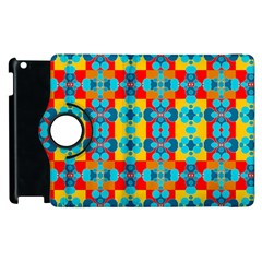 Pop Art Abstract Design Pattern Apple Ipad 2 Flip 360 Case by BangZart