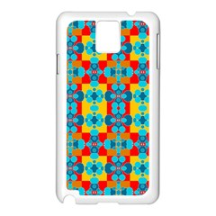 Pop Art Abstract Design Pattern Samsung Galaxy Note 3 N9005 Case (white)