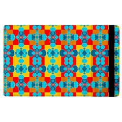 Pop Art Abstract Design Pattern Apple Ipad Pro 9 7   Flip Case by BangZart