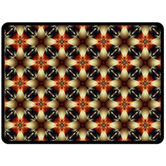 Kaleidoscope Image Background Double Sided Fleece Blanket (large)  by BangZart