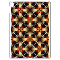 Kaleidoscope Image Background Apple Ipad Pro 9 7   White Seamless Case
