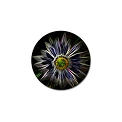 Flower Structure Photo Montage Golf Ball Marker by BangZart