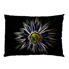 Flower Structure Photo Montage Pillow Case by BangZart