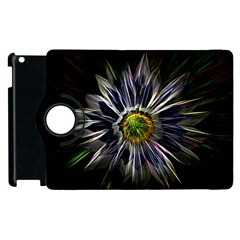 Flower Structure Photo Montage Apple Ipad 3/4 Flip 360 Case by BangZart