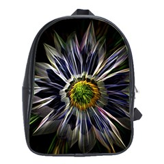 Flower Structure Photo Montage School Bags (xl)  by BangZart