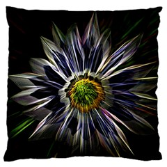 Flower Structure Photo Montage Standard Flano Cushion Case (one Side) by BangZart