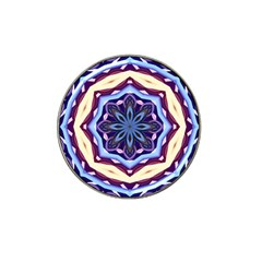 Mandala Art Design Pattern Hat Clip Ball Marker (4 Pack)