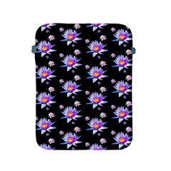 Flowers Pattern Background Lilac Apple Ipad 2/3/4 Protective Soft Cases by BangZart