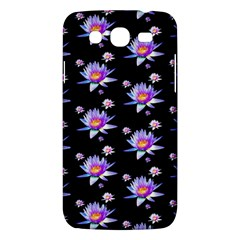 Flowers Pattern Background Lilac Samsung Galaxy Mega 5 8 I9152 Hardshell Case  by BangZart