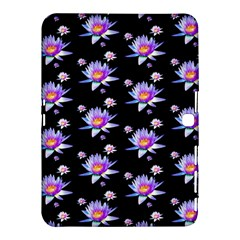 Flowers Pattern Background Lilac Samsung Galaxy Tab 4 (10 1 ) Hardshell Case  by BangZart