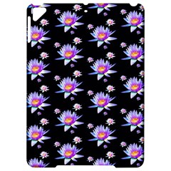 Flowers Pattern Background Lilac Apple Ipad Pro 9 7   Hardshell Case by BangZart