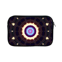 Mandala Art Design Pattern Apple Ipad Mini Zipper Cases by BangZart