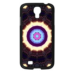 Mandala Art Design Pattern Samsung Galaxy S4 I9500/ I9505 Case (black) by BangZart