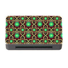 Pattern Background Bright Brown Memory Card Reader With Cf by BangZart