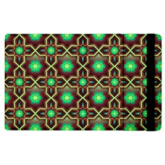 Pattern Background Bright Brown Apple Ipad 2 Flip Case by BangZart