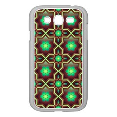 Pattern Background Bright Brown Samsung Galaxy Grand Duos I9082 Case (white) by BangZart