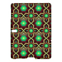 Pattern Background Bright Brown Samsung Galaxy Tab S (10 5 ) Hardshell Case  by BangZart