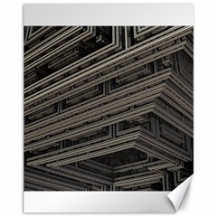 Fractal 3d Construction Industry Canvas 11  X 14   by BangZart