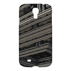Fractal 3d Construction Industry Samsung Galaxy S4 I9500/i9505 Hardshell Case by BangZart