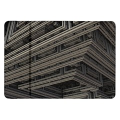 Fractal 3d Construction Industry Samsung Galaxy Tab 8 9  P7300 Flip Case by BangZart