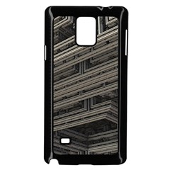 Fractal 3d Construction Industry Samsung Galaxy Note 4 Case (black) by BangZart