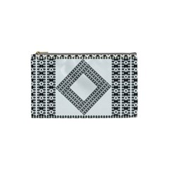 Pattern Background Texture Black Cosmetic Bag (small)  by BangZart