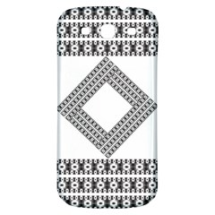 Pattern Background Texture Black Samsung Galaxy S3 S Iii Classic Hardshell Back Case by BangZart