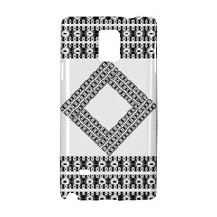Pattern Background Texture Black Samsung Galaxy Note 4 Hardshell Case by BangZart