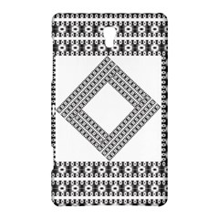 Pattern Background Texture Black Samsung Galaxy Tab S (8 4 ) Hardshell Case