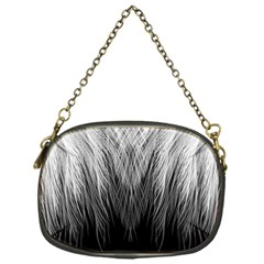 Feather Graphic Design Background Chain Purses (one Side)  by BangZart