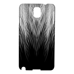Feather Graphic Design Background Samsung Galaxy Note 3 N9005 Hardshell Case by BangZart